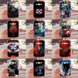 For Samsung Galaxy J1 2016 J120 Avengers Silicone Phone Case