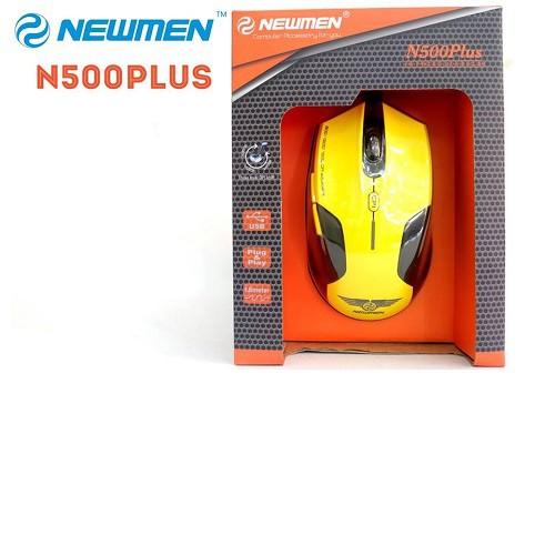 Chuột Newmen N500 Plus (Vàng)