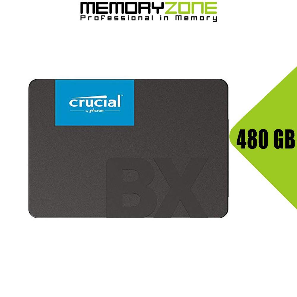 [Mã ELMS05 giảm 5% đơn 300k]Ổ cứng SSD Crucial BX500 3D NAND SATA III 2.5 inch 480GB CT480BX500SSD1