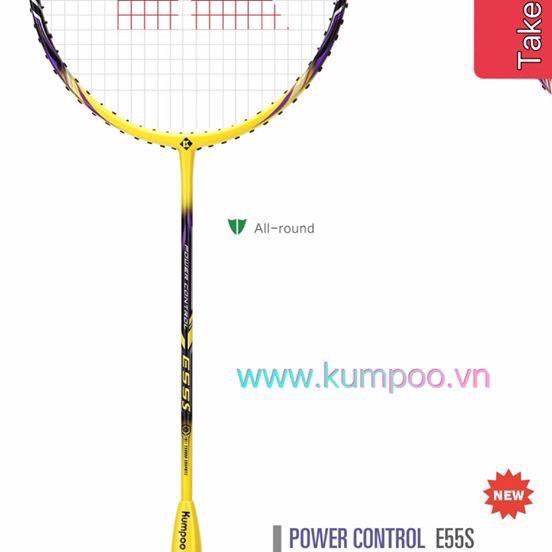 [Sale sốc 50% 7.7] Vợt cầu lông Kumpoo Power control, Chính hãng thương hiệu từ Nhật bản