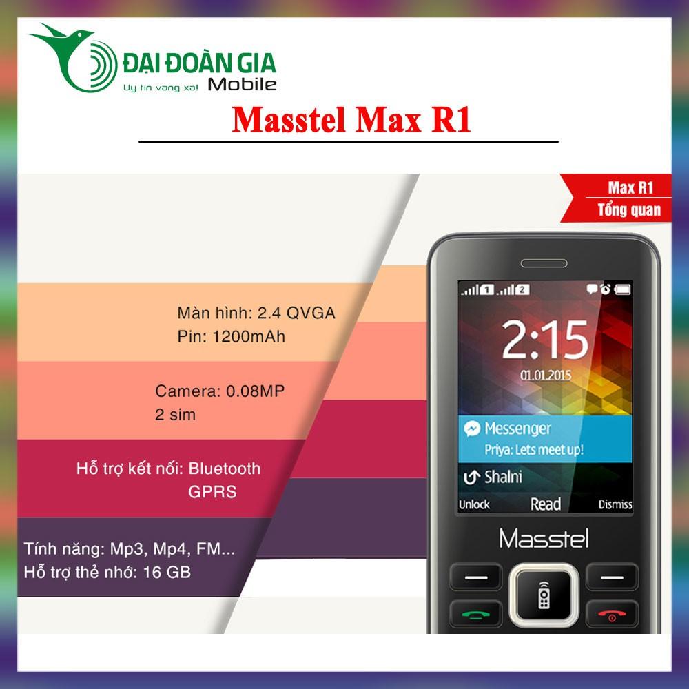 Điện thoại giá rẻ Masstel Max R1 - Chức năng ghi âm cuộc gọi - FM ko cần tai nghe - 3535177 , 1219341006 , 322_1219341006 , 437500 , Dien-thoai-gia-re-Masstel-Max-R1-Chuc-nang-ghi-am-cuoc-goi-FM-ko-can-tai-nghe-322_1219341006 , shopee.vn , Điện thoại giá rẻ Masstel Max R1 - Chức năng ghi âm cuộc gọi - FM ko cần tai nghe