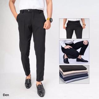 Quần âu nam vải Vinteck dáng suông, thời trang công sở – OMAN