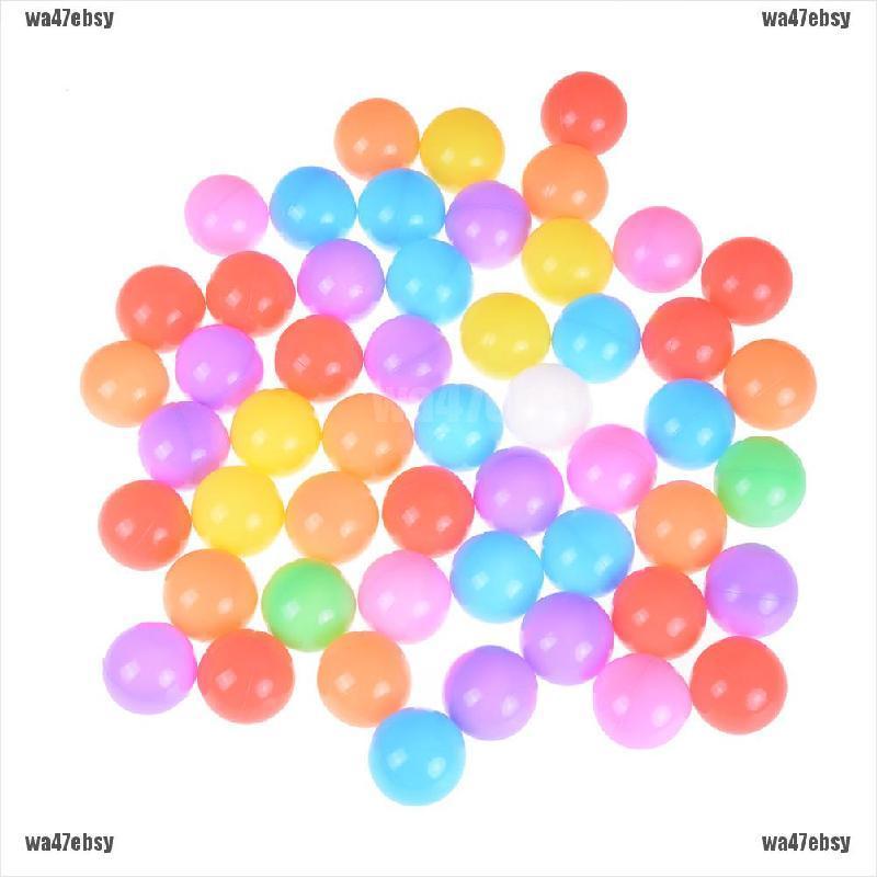【wa47ebsy】10pcs/lot Eco-Friendly Colorful Soft Plastic Water Pool Ocean Wave B