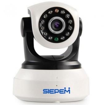 Camera IP WIFI/3G Siepem 1 râu (Trắng)
