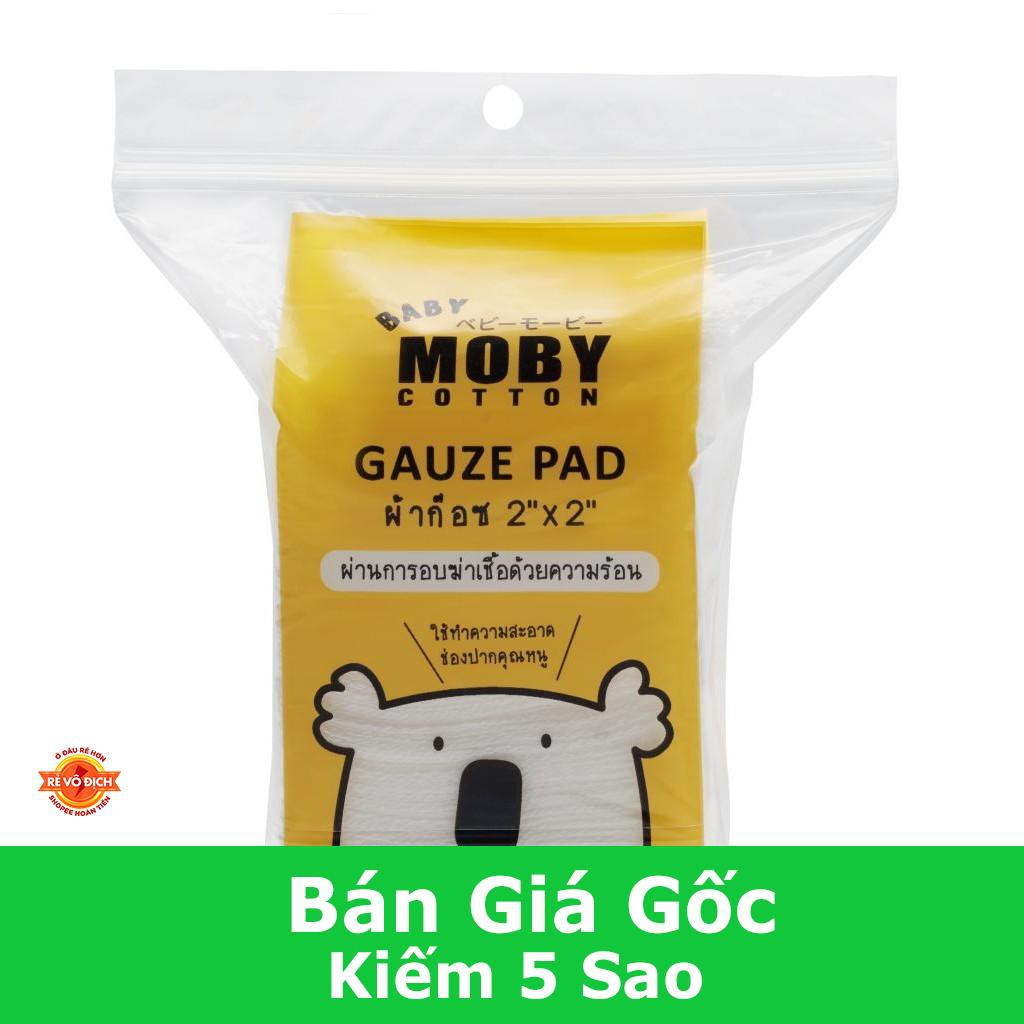 [Giá Cực Sock] Gạc Rơ Lưỡi Moby ( 50 Miếng)
