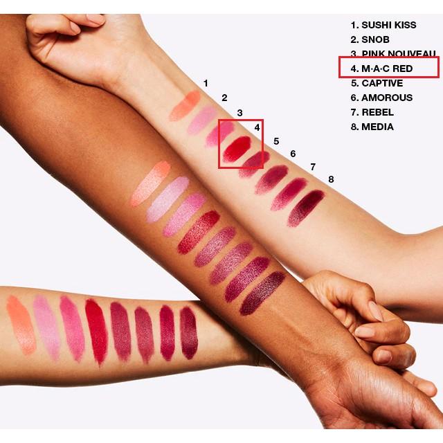Son MAC Powder Kiss - Matte - Retro Matte Lipstick