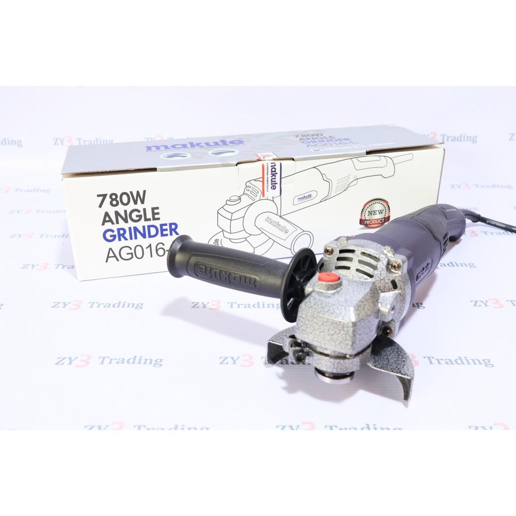 [AG016-L] Máy mài góc - Máy mài góc tay dài Makute công suất 780W - Máy mài thương hiệu Nhật Bản