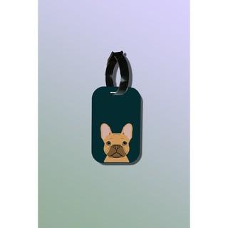Tag hành lý du lịch in hình Pet Lover - Silly French Bulldog thumbnail