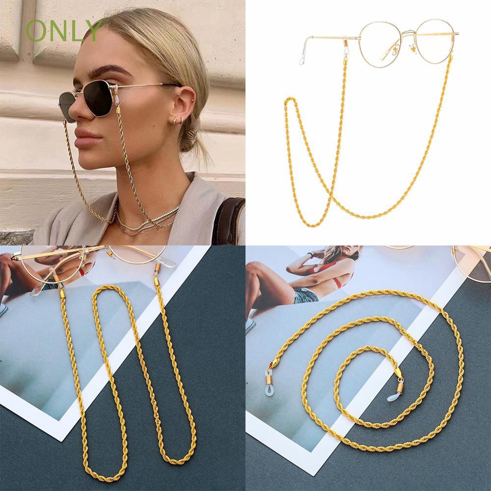 ONLY Accessories Anti-loss Eyewear Retainer Eyewear Holder Necklace Eyeglass Chains