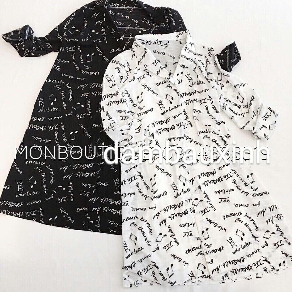 Đầm bầu thời trang BAA227 (còn màu đen)