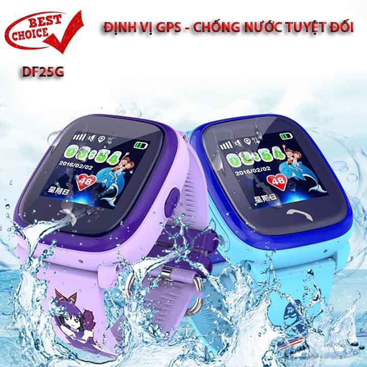 Đồng hồ định vị chống nước DF 25 chống nước ưu việt