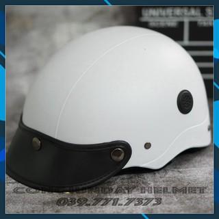 Yêu Thích[Bảo Hành 12T] Nón mũ bảo hiểm Sơn thông gió Chất liệu nhựa ABS siêu bền cao cấp / non bao hiem / mu