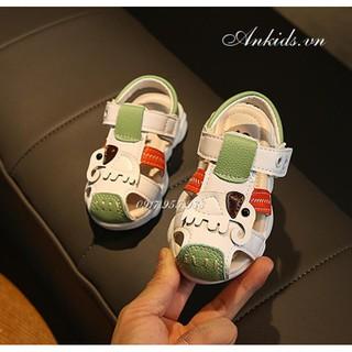 giày tập đi cho bé trai phong cách hàn quốc Ankids506