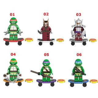 Minifigures Các Nhân Vật Trong Phim Ninja Rùa Siêu Hot