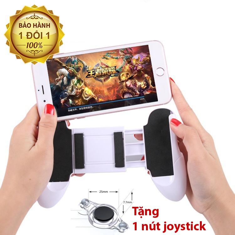 [Combo] Tay Cầm Kẹp Điện Thoại Gamepad Tay Cầm Chơi Game + TẶNG Moblie Joystick Siêu Dính Fling - Trắng - 15428295 , 1612831205 , 322_1612831205 , 65500 , Combo-Tay-Cam-Kep-Dien-Thoai-Gamepad-Tay-Cam-Choi-Game-TANG-Moblie-Joystick-Sieu-Dinh-Fling-Trang-322_1612831205 , shopee.vn , [Combo] Tay Cầm Kẹp Điện Thoại Gamepad Tay Cầm Chơi Game + TẶNG Moblie Joy