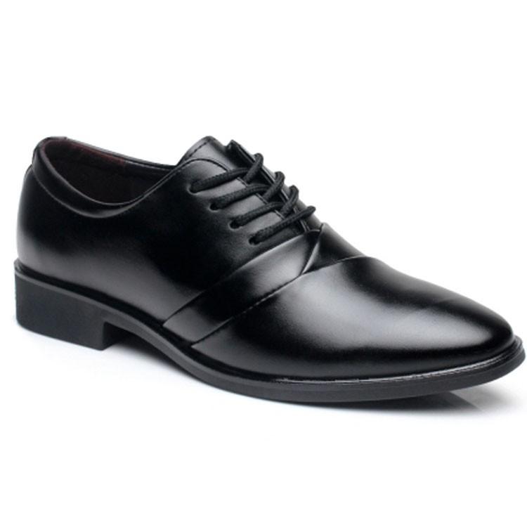 Giày tây công sở thời trang Zapas GT020 (Đen)