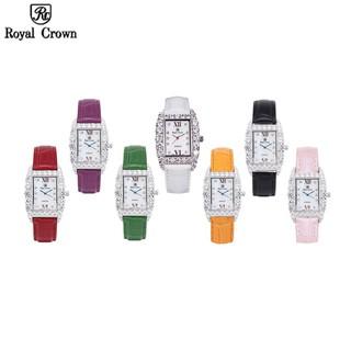 Đồng hồ nữ Chính Hãng Royal Crown 6111 dây da các màu thumbnail