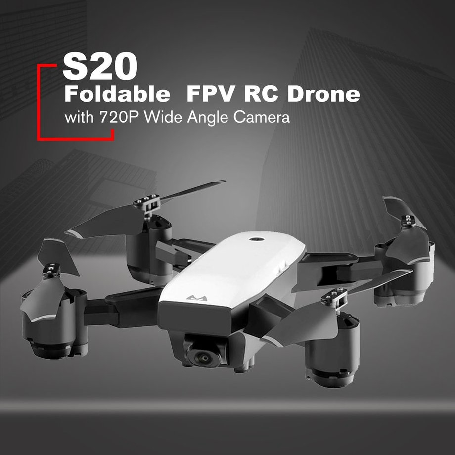 SMRC S20 FPV Drone RC Quadrocopter With 720P Camera Folding RC Helicopter