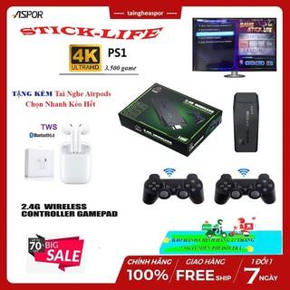 Máy Chơi Game PS3000 Arcade GBA PSP Có Hơn 3000 Trò Chơi - Chơi Trên Tivi Bằng Cổng HDMI Output HD 4K- Kết nối HDMI thumbnail