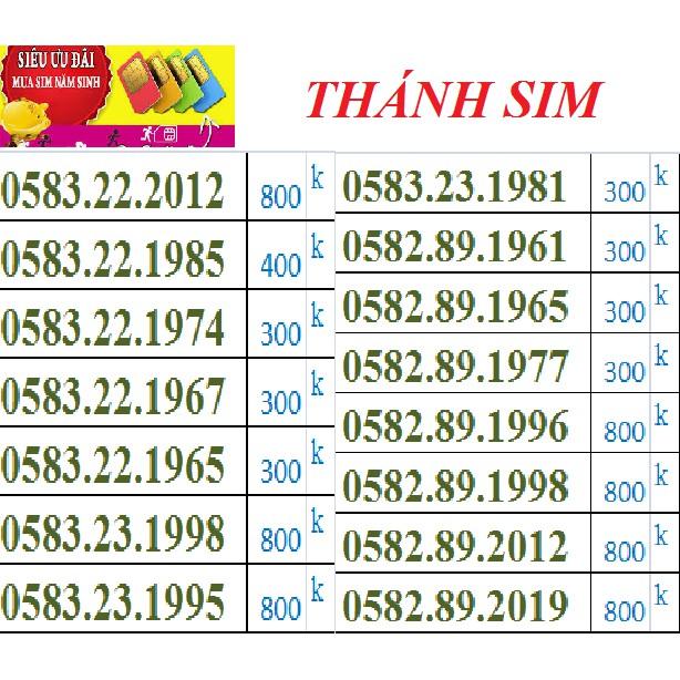 H32 SIM NGÀY THÁNG NĂM SINH - THÁNH SIM FREE DATA