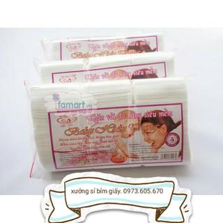 (Có tem chống hàng giả)Khăn giấy đa năng siêu mềm Hiền Trang gói 250 gram