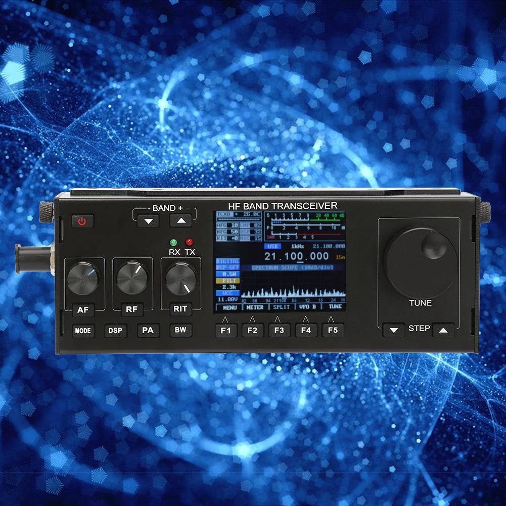 10W RS-918 HF SDR Transceiver Short-Wave QRP Ham Radio
