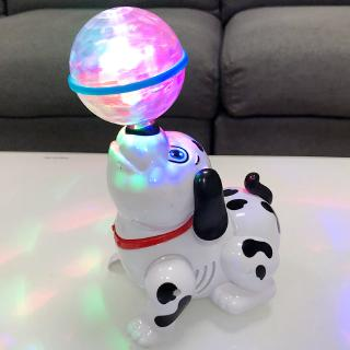 Flashing ball sea lion music electric toy dog 0 boy enlightenment 1-3 year old female baby educational toy