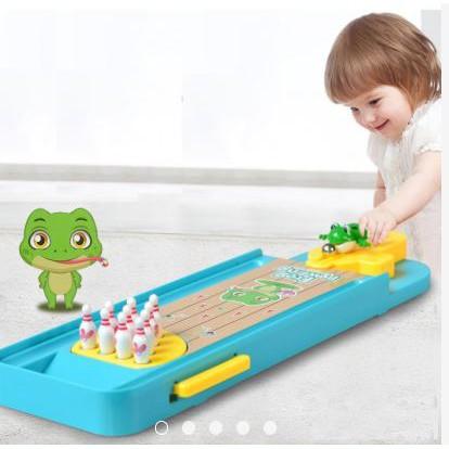 [Nhập mã TOYJULY giảm 10% tối đa 20K đơn từ 99K]Bowling ếch cực kỳ vui nhộn cho bé từ 3...