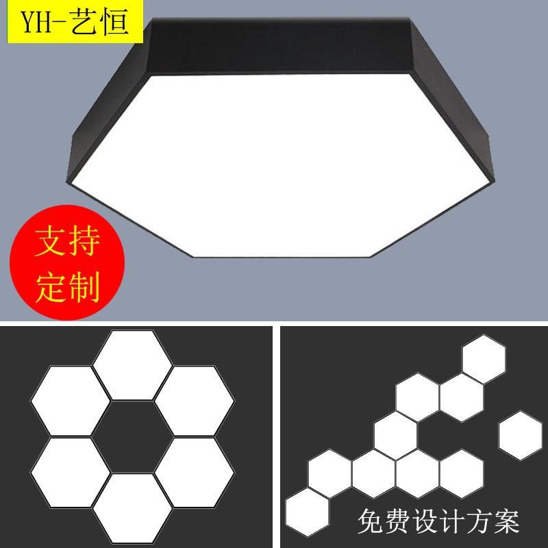đèn led hình tổ ong