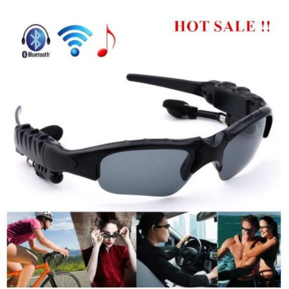 FREESHIP 50K Smart Wireless Bluetooth Sports Sunglasses With Headphone Kính râm thể thao