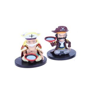 Bộ 2 mô hình nhân vật Râu trắng và Roger trong Onepiece