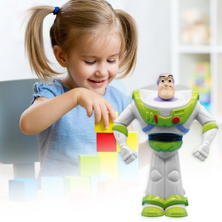 ✿READY STOCK✿ 11cm Story Talking Buzz Lightyear PVC Toy Figure Model Collectible Doll