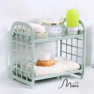 Kệ Nhựa Mini 2 Tầng Mini Đựng Đồ Đa Năng Siêu Xinh Sẵn Hàng 5 màu