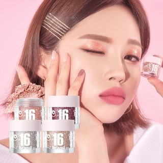 Nhũ Mắt Kim Tuyến 16brand Candy Rock Pearl Powder thumbnail