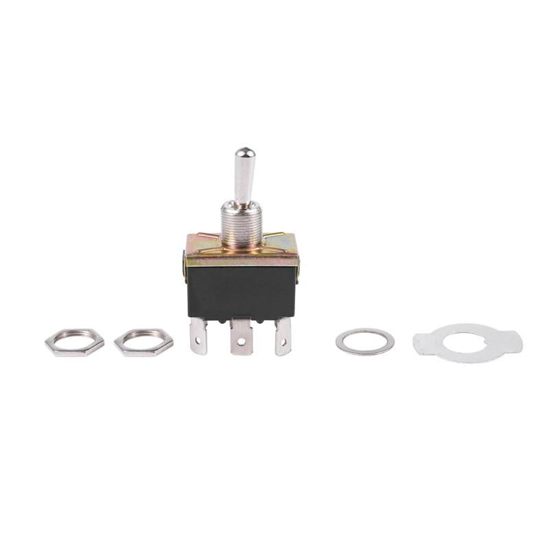 1pcs New AC 250V//15A 125V//20A 3 Positions 6 Pins DPDT Rocker switch 12V DC