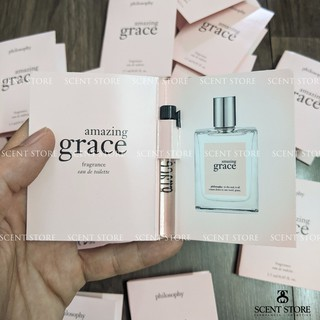 Scentstorevn - Vial chính hãng nước hoa Philosophy Amazing Grace [1.5ml] thumbnail