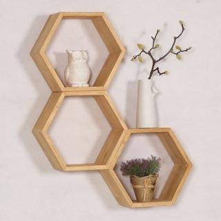 Kệ tổ ong đa năng có 3 size, Kệ lục giác decor phòng phong cách Hàn Quốc (1 Kệ) – Decor Fancy