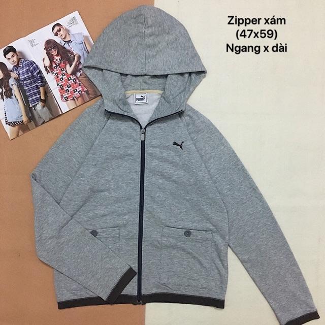 Áo zipper puma
