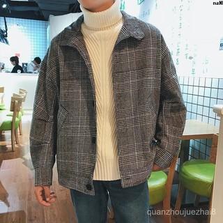 Áo Khoác Len Cotton Dáng Rộng Plus Size Thời Trang Cho Nam