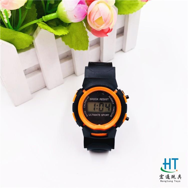 Đồng hồ nữ điện tử dây nhựa dẻo nam nữ