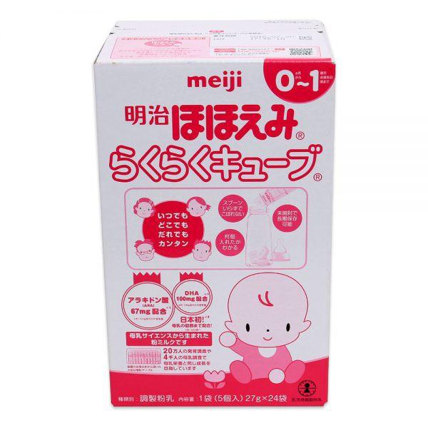 Sữa Meiji số 0 dạng thanh 648G (0 – 1 Tuổi)