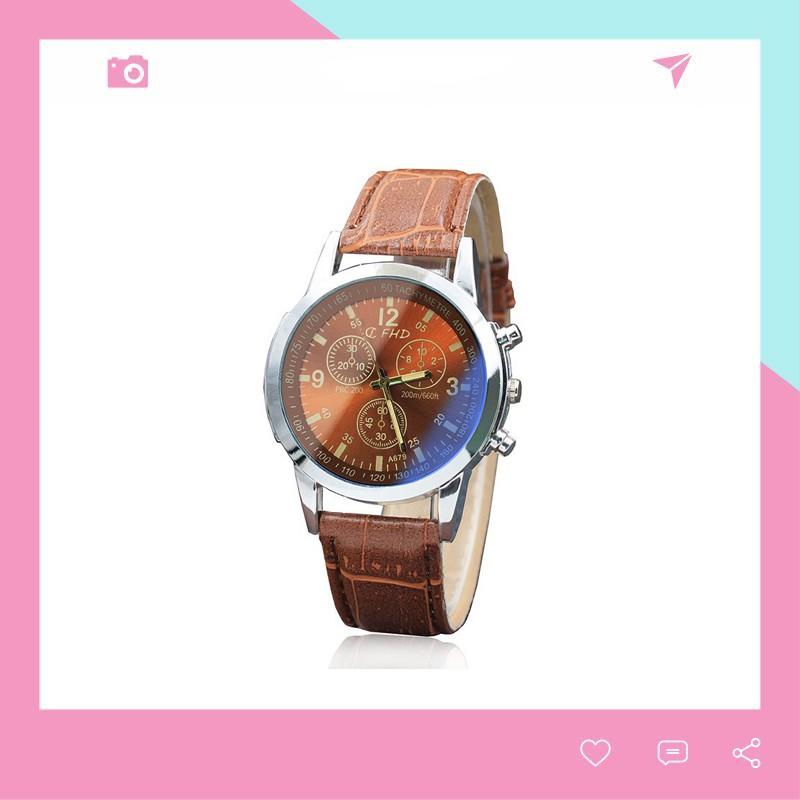 Đồng hồ thời trang nam CFHD phong cách Hàn Quốc DH101