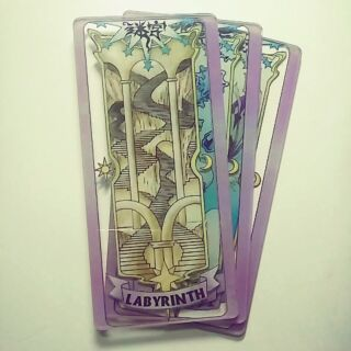 LABYBRINTH- thẻ bài pha lê sakura