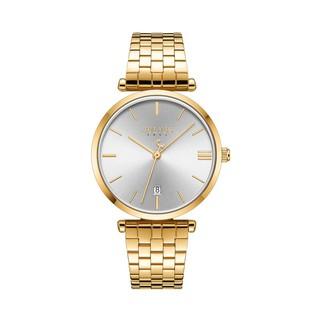 [Mã FARSBR153 giảm 15% đơn 150K] Đồng hồ nam JA-1260ME Julius Hàn Quốc dây thép (vàng)