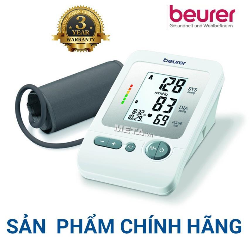 Máy đo huyết áp bắp tay Beurer BM26 - Sản Xuất Tại Đức , Bảo Hành 3 Năm