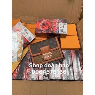(Hót Nhất 2020) túi  họa tiết chất da siêu đẹp bản có 2 dây hàng có hộp (ảnh thật bên shop )
