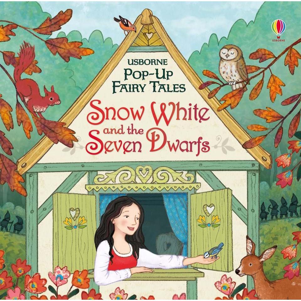 Sách Pop Up cổ tích Snow White And The Seven Dwarfs (Bạch tuyết) cho bé
