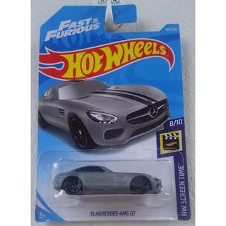 Xe mô hình Hot Wheels '15 Mercedes-AMG GT FYC95