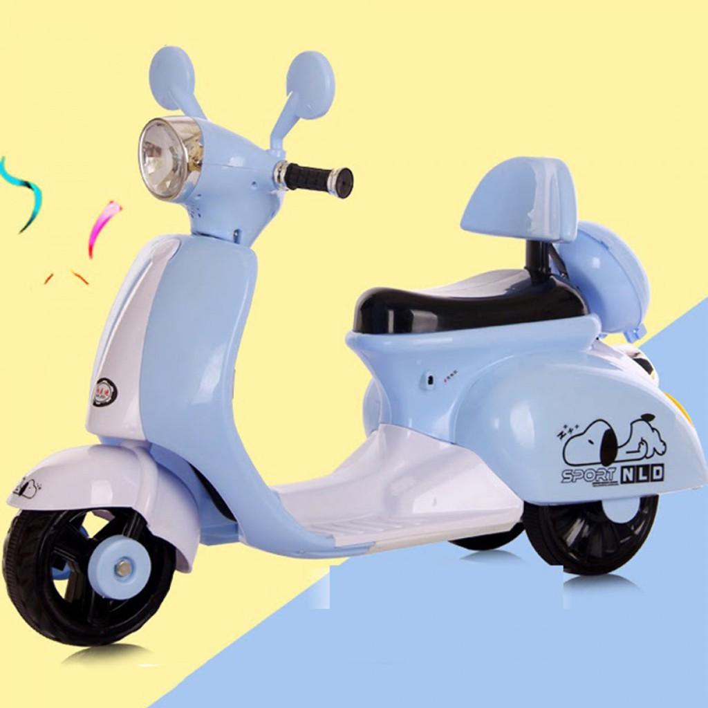 Xe máy điện trẻ em Vespa cổ 3279