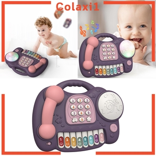 [COLAXI1] Children Telephone Pretend Play Toys Children Baby for Learning Education Girls